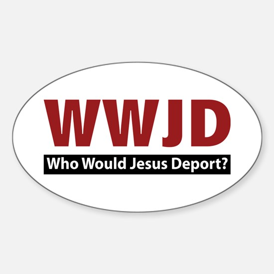 Deport Oval Decal