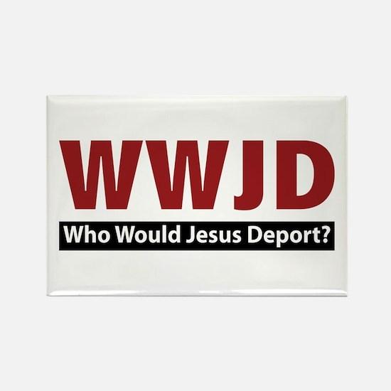 Deport Rectangle Magnet