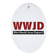 Deport Oval Ornament