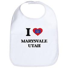 I love Marysvale Utah Bib