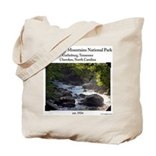 Smoky Mountain Stream Tote Bag