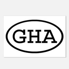 GHA Oval Postcards (Package of 8)