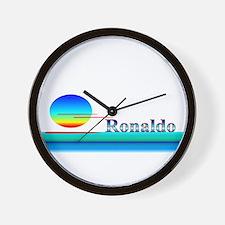 Ronaldo Wall Clock