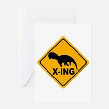 Anteater X-ing Greeting Cards (Pk of 20)