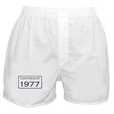 1977, 30th Boxer Shorts