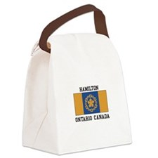 Hamilton Ontario Canvas Lunch Bag