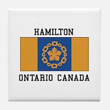 Hamilton Ontario Tile Coaster