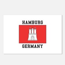 Hamburg Germany Postcards (Package of 8)