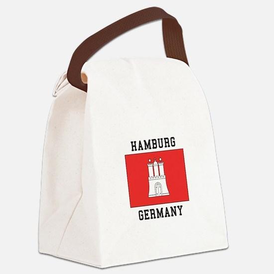 Hamburg Germany Canvas Lunch Bag