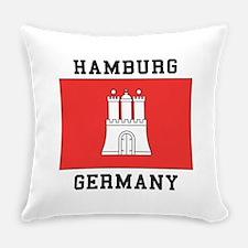 Hamburg Germany Everyday Pillow