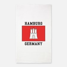 Hamburg Germany Area Rug