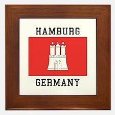 Hamburg Germany Framed Tile