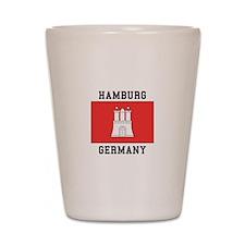 Hamburg Germany Shot Glass