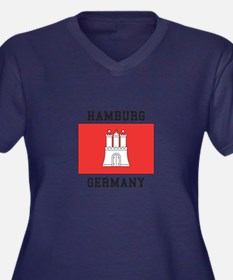 Hamburg Germany Plus Size T-Shirt
