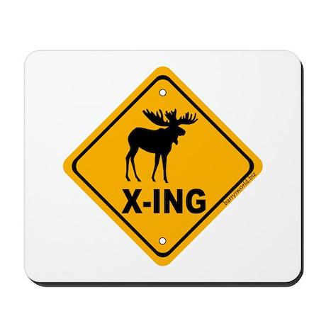 Moose X-ing Mousepad
