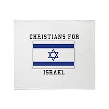 Christians For Israel Throw Blanket