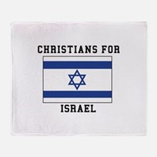 Christians For Israel Throw Blanket