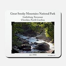 Smoky Mountain Stream Mousepad