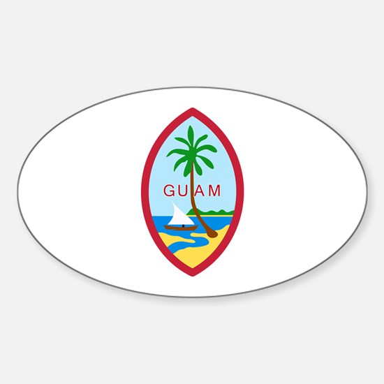 Guam Seal Decal