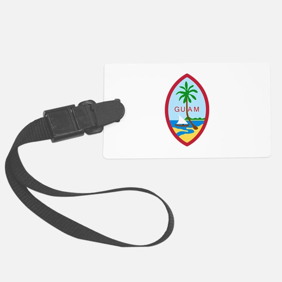 Guam Seal Luggage Tag