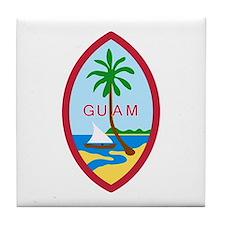 Guam Seal Tile Coaster