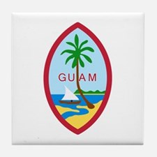 Guam Seal Tile Coaster
