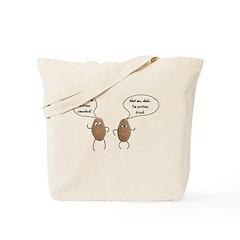 Talking Potatoes Tote Bag