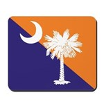 Orange Purple SC Flag Mousepad