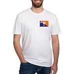 Orange Purple SC Flag Fitted T-Shirt