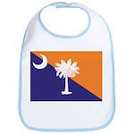 Orange Purple SC Flag Bib