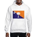 Orange Purple SC Flag Hooded Sweatshirt
