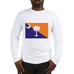 Orange Purple SC Flag Long Sleeve T-Shirt
