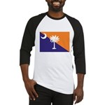 Orange Purple SC Flag Baseball Jersey