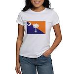 Orange Purple SC Flag Women's T-Shirt