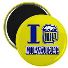 I BEER MILWAUKEE Magnet