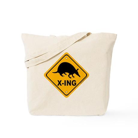 Armadillo X-ing Tote Bag