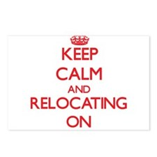 Keep Calm and Relocating Postcards (Package of 8)
