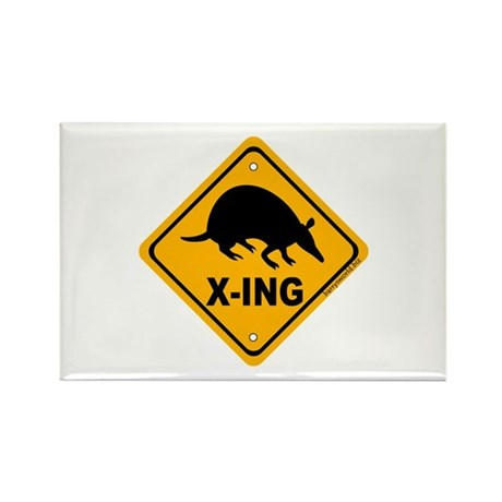 Armadillo X-ing Rectangle Magnet (100 pack)
