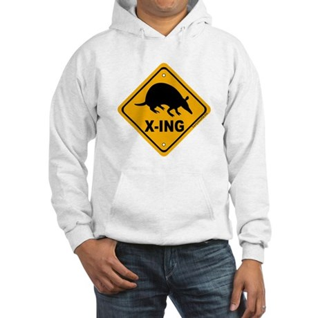 Armadillo X-ing Hooded Sweatshirt