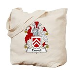 Pannell Family Crest Tote Bag