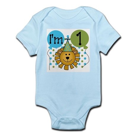 Lion 1st Birthday Infant Bodysuit
