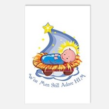 Wise Men Adore HIM Postcards (Package of 8)