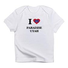 I love Paradise Utah Infant T-Shirt