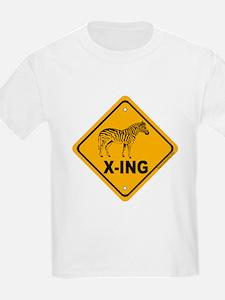 Zebra X-ing T-Shirt