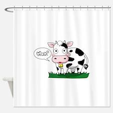 Moo? Shower Curtain