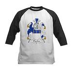 Packe Family Crest Kids Baseball Jersey