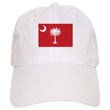Red South Carolina Flag Baseball Cap