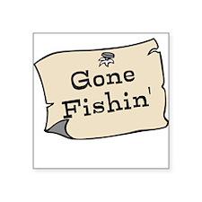Gone Fishin Sticker