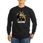 Oxney Family Crest Long Sleeve Dark T-Shirt