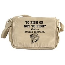 To Fish Or Not To Fish Messenger Bag